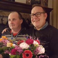 Michael Sporrer und Andreas Schreitmüller bei Ihrem Abschied aus dem Vorstand