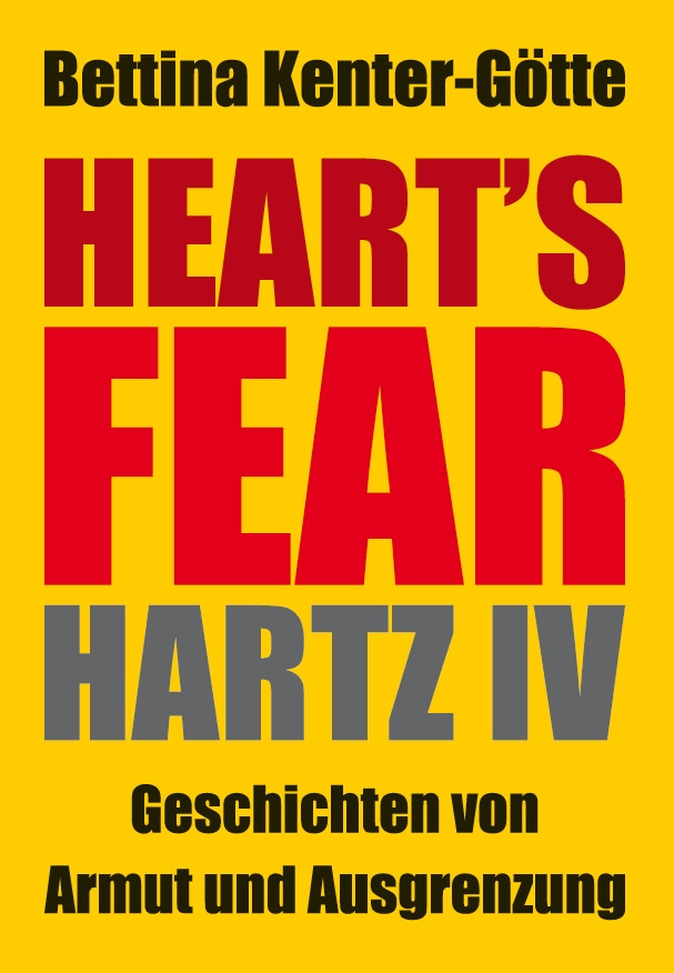 "Buchtitel ""Heart's Fear"" von Bettina Kenter-Götte"